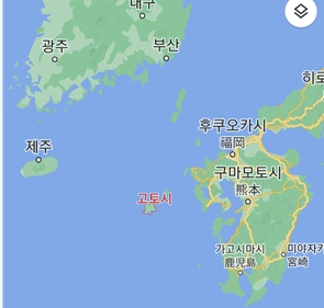 일본 나가사키현 고토(五島)열도 위치도. 연합뉴스