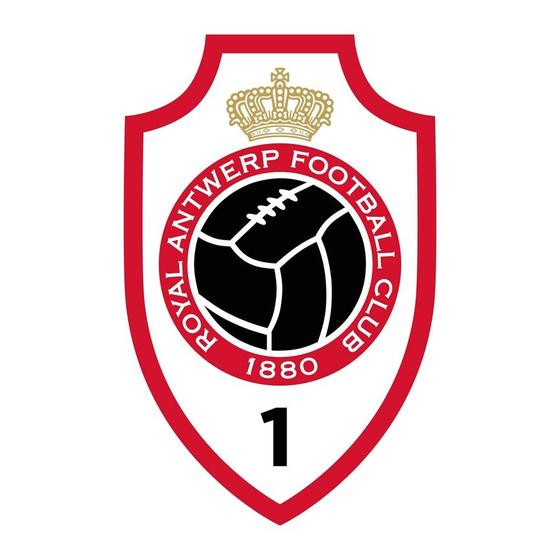 앤트워프의 엠블럼에도 왕관 모양이 장식되어 있다. 엠블럼 밑 부분에 쓰인 1이라는 숫자는 벨기에에서 처음으로 등록된 축구 클럽이란 뜻이다. 설기현 선수의 유럽 진출 발판을 마련해줬던 앤트워프에는 현재 이재익 선수가 소속돼 있다.