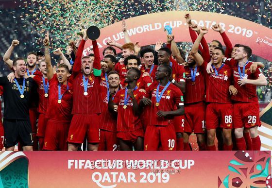 지난 2019년 클럽월드컵에서 우승한 리버풀. 게티이미지