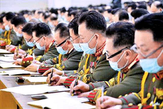 북한 당대회, 이번엔 마스크 착용