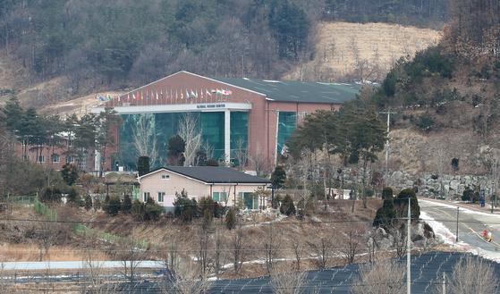 11일 경북 상주시 화서면 상용리 봉황산 자락에 위치한 BTJ열방센터.  뉴스1