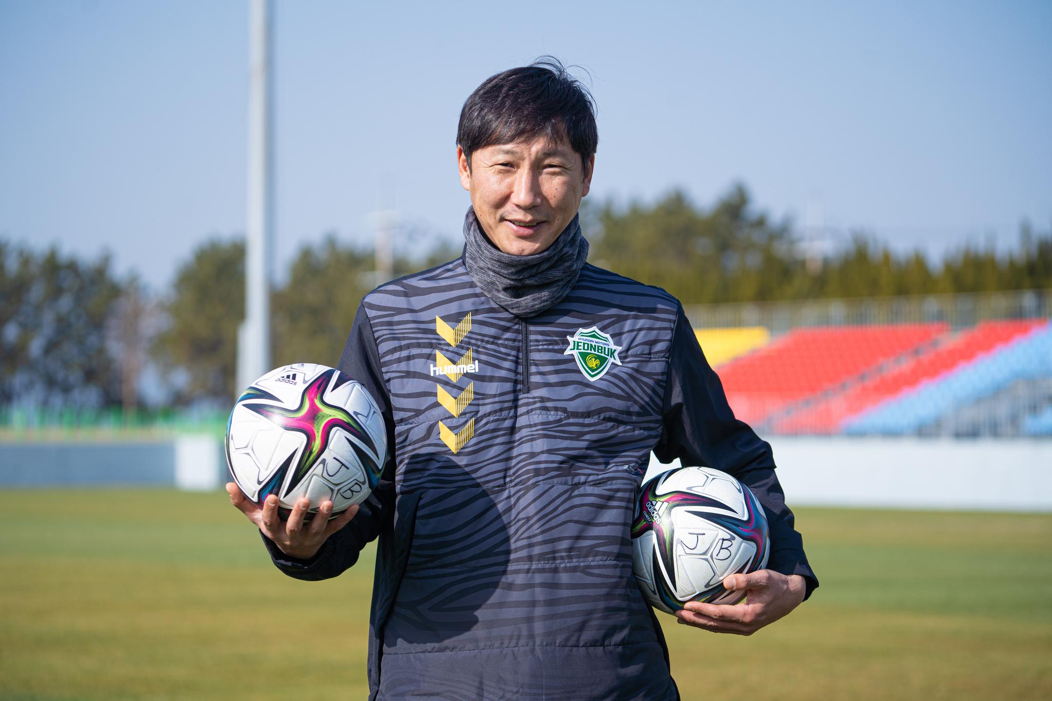 김상식 전북 감독은 K리그 5연패와 아시아 챔피언스리그 우승에 도전한다. [사진 전북 현대]