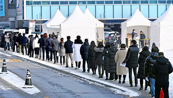 경기도 공무원 '코로나 선제검사'
