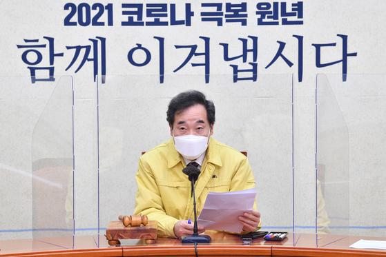 더불어민주당 이낙연 대표. 연합뉴스
