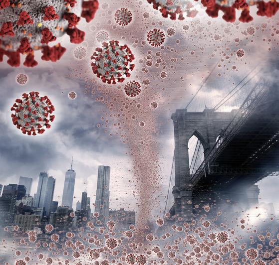 변종 코로나 바이러스가 잇따르고 있다. 사진 CDC