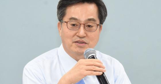 김동연 전 경제부총리 겸 기획재정부 장관. 중앙포토