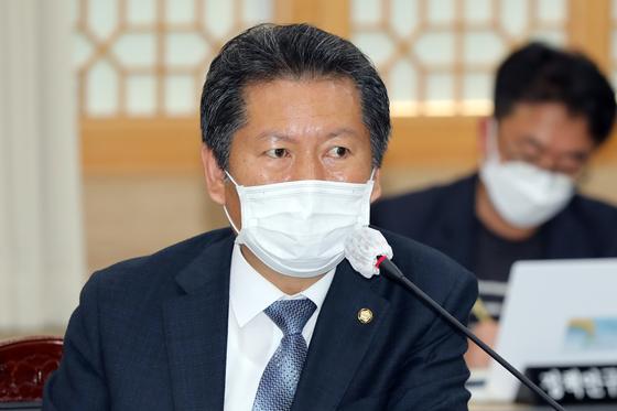 정청래 더불어민주당 의원. 뉴스1