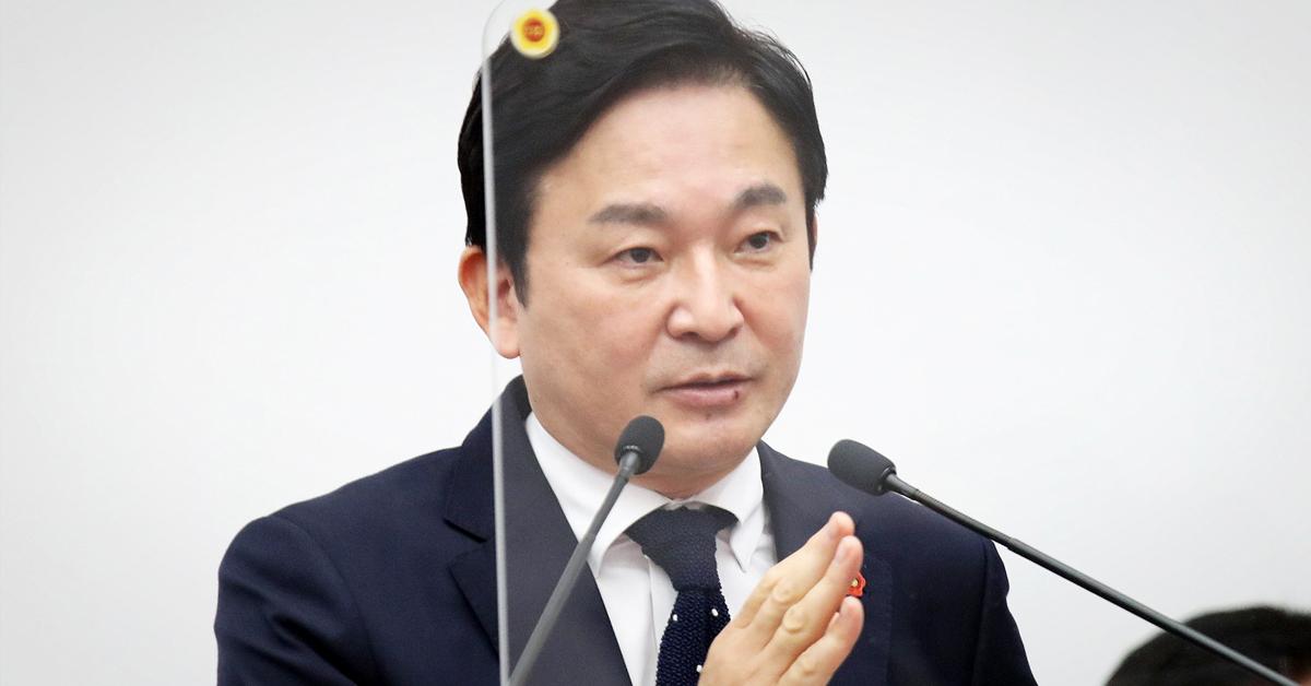 원희룡 제주도지사. 사진 제주도의회