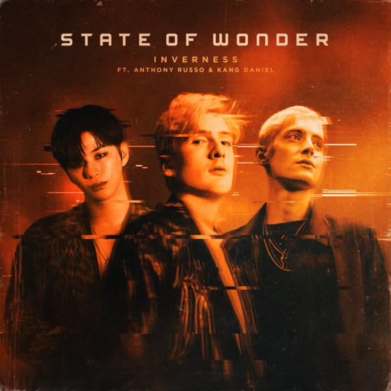 15일 발매된 인버네스 싱글 '스테이트 오브 원더' 재킷. 앤소니 루소와 강다니엘이 피처링으로 참여했다. [사진 EMA]