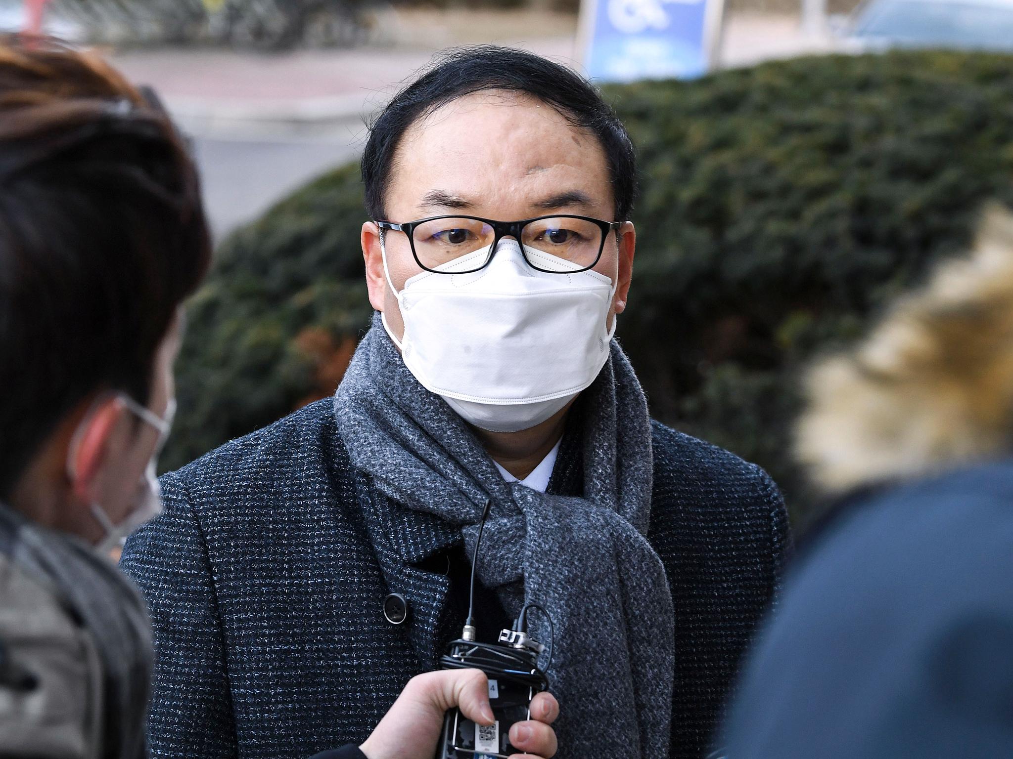 정한중 한국외대 법학전문대학원 교수. 우상조 기자