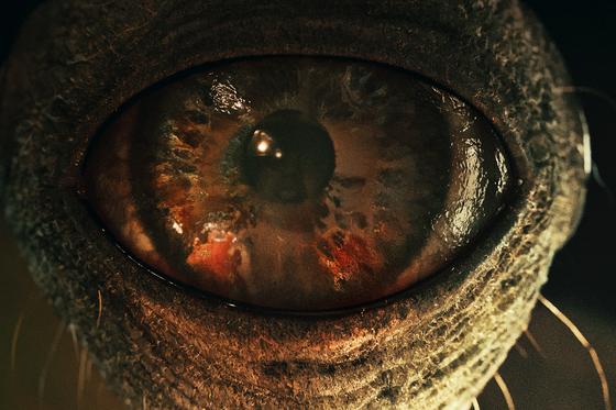 넷플릭스 드라마 '스위트홈' 속 '눈깔괴물'. 비대한 머리에 눈이 여러 개 달렸다. 동명 원작 웹툰의 괴물 캐릭터를 실감나는 영상으로 살려냈다. [사진 넷플릭스]