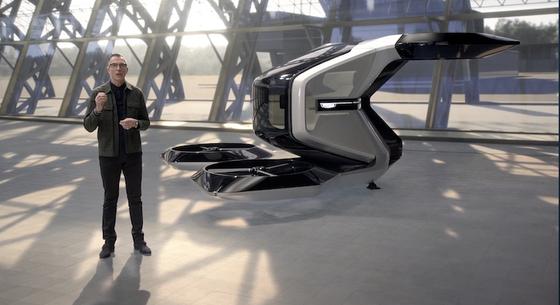 GM이 CES 2021을 통해 미래 모빌리티 시장 진출을 본격 선언했다. 사진은 GM이 공개한 수직 이착륙 무인기(VTOL) [사진 CES 홈페이지 캡처]