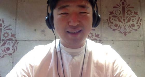 류기현 딥스튜디오 대표가 지난 6일 중앙일보와 화상 인터뷰를 하고 있다. 김정민 기자