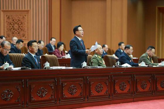 북한이 17일 정기국회격인 최고인민회의(14기 4차) 회의를 열어 대대적인 물갈이 인사를 했다. [뉴스