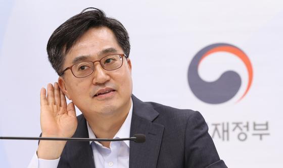 김동연 전 경제부총리 겸 기획재정부 장관 [뉴시스]