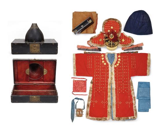 독일 라이프치히 그라시민족학 박물관 소장품인 조선 갑옷과 투구 등. [사진 국립고궁박물관]