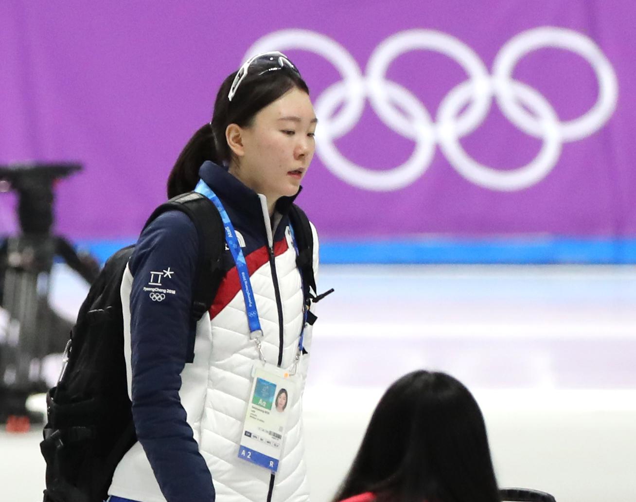 스피드스케이팅 노선영 선수. 일간스포츠