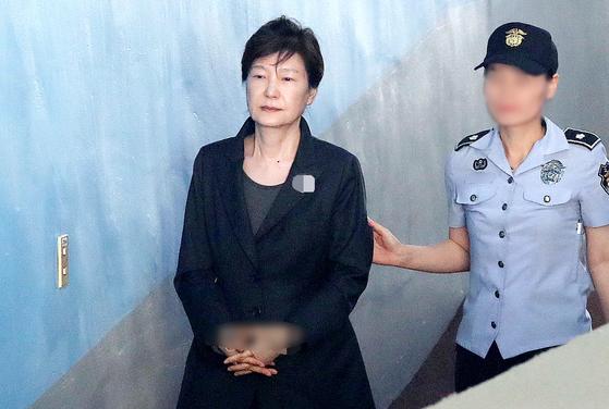서울구치소 확진자 밀접 접촉 박근혜 신속 검사결과 음성