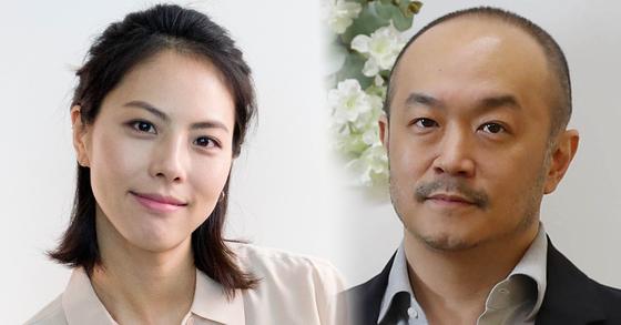 가수 박지윤, 조수용 카카오 공동대표. [중앙포토]