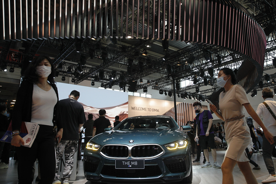 BMW M8 모델. AP=연합뉴스