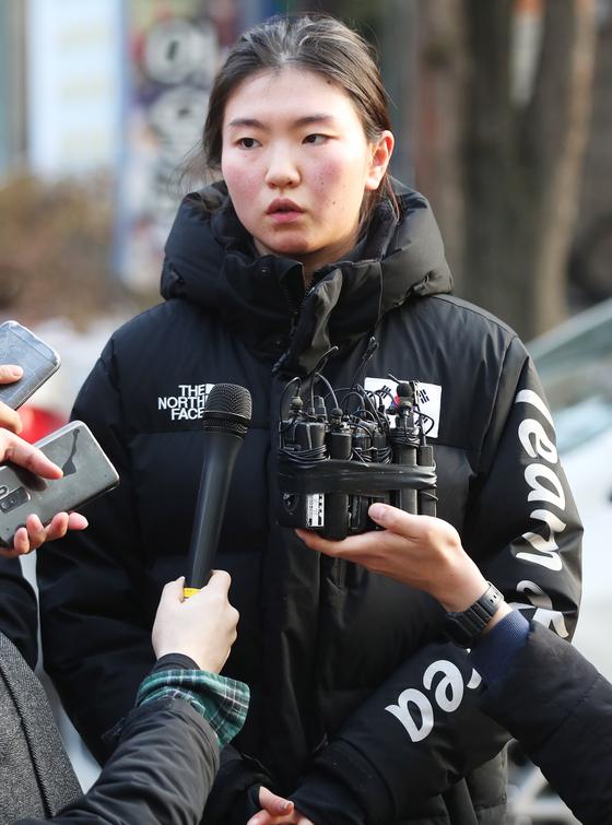 심석희 선수. 연합뉴스