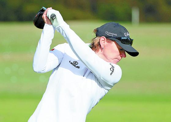 '전설' 소렌스탐이 13년 만에 LPGA 투어 대회에 출전한다. [AFP=연합뉴스]