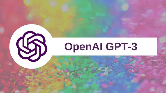생각하는 인공지능 GPT-3 (출처: OpenAI)