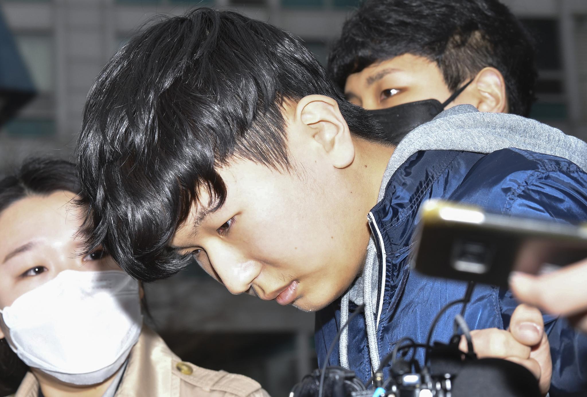 [속보] '박사 방'조주빈 공범 '부타'강훈 징역 15 년, 한모 징역 11 년