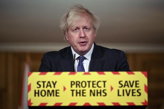 영국발 변이, 사망 증가···치명률 높다 존슨 英총리 경고