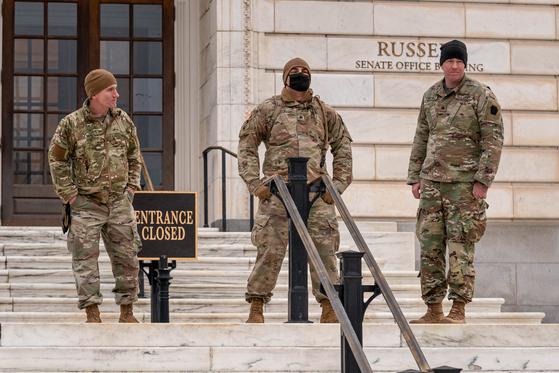 바이든 취임식 배치된 주방위군 150~200명 코로나 감염