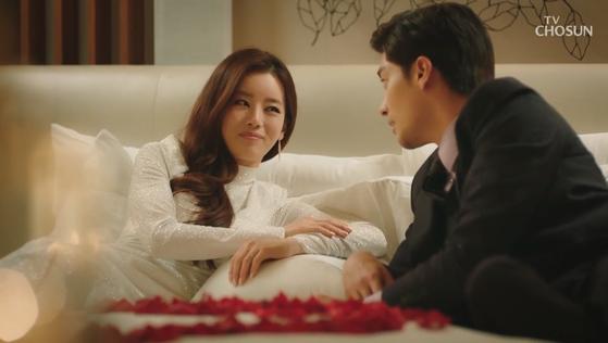 TV조선 주말드라마 '결혼작사 이혼작곡'의 한 장면 [사진 TV조선]