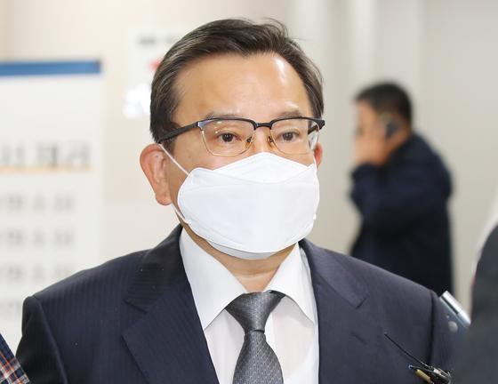 2020년 10월 28일 김학의 전 법무부 차관이 서울고등법원에 출석했다. 연합뉴스