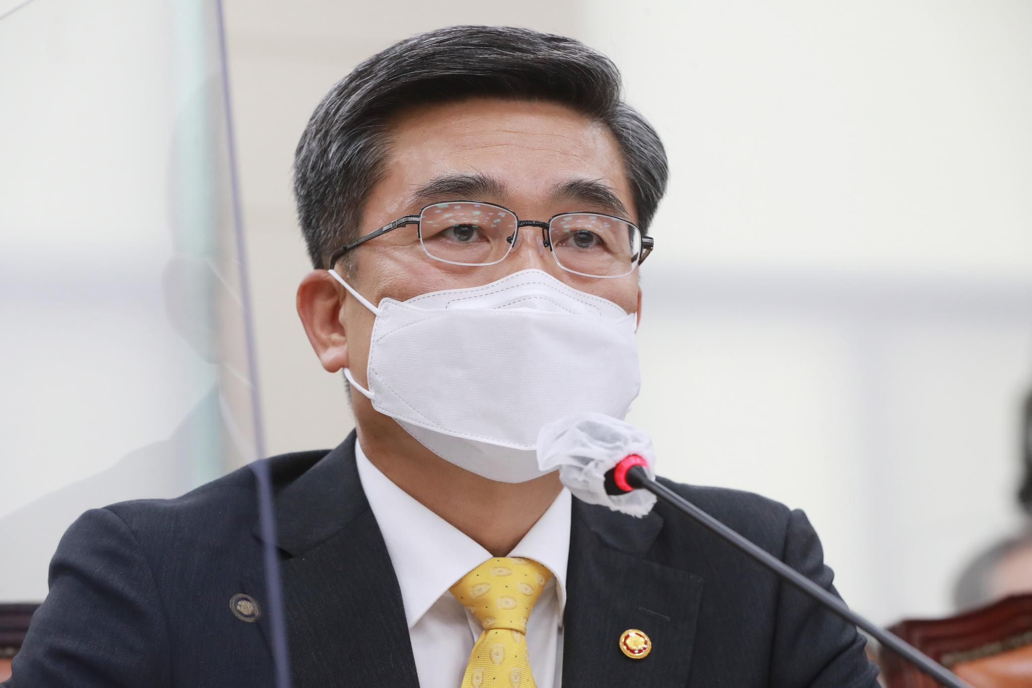 서욱 국방부 장관. 오종택 기자