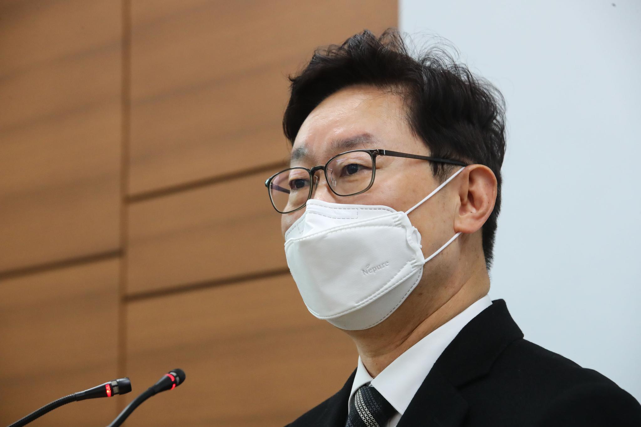박범계 법무부 장관 후보자. 임현동 기자