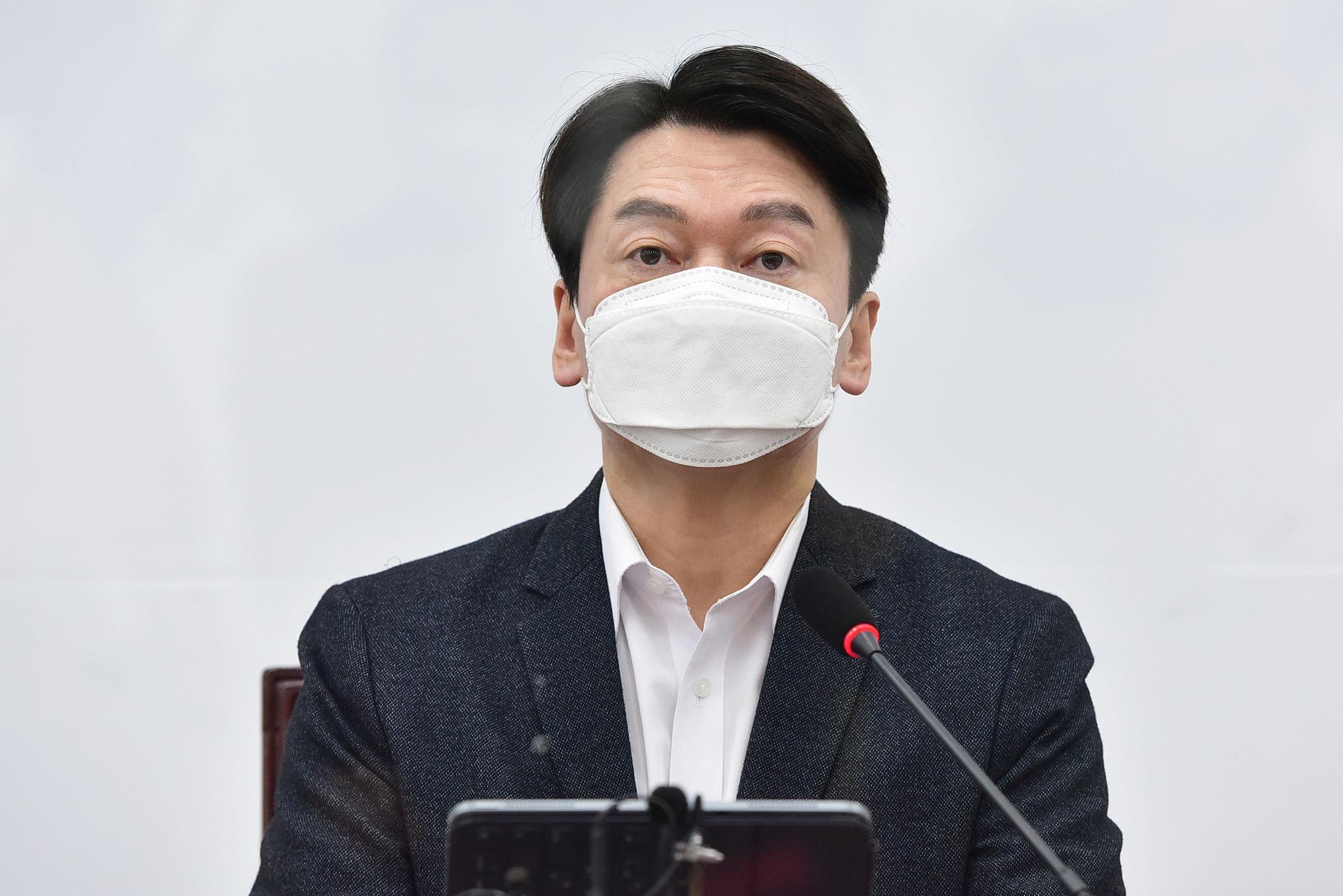 국민의당 안철수 대표. 중앙포토