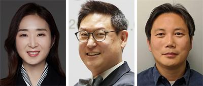 배순민, 데니스 홍, 한보형(왼쪽부터)
