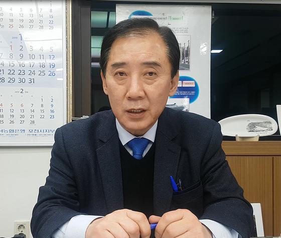 박윤국 포천시장. 전익진 기자