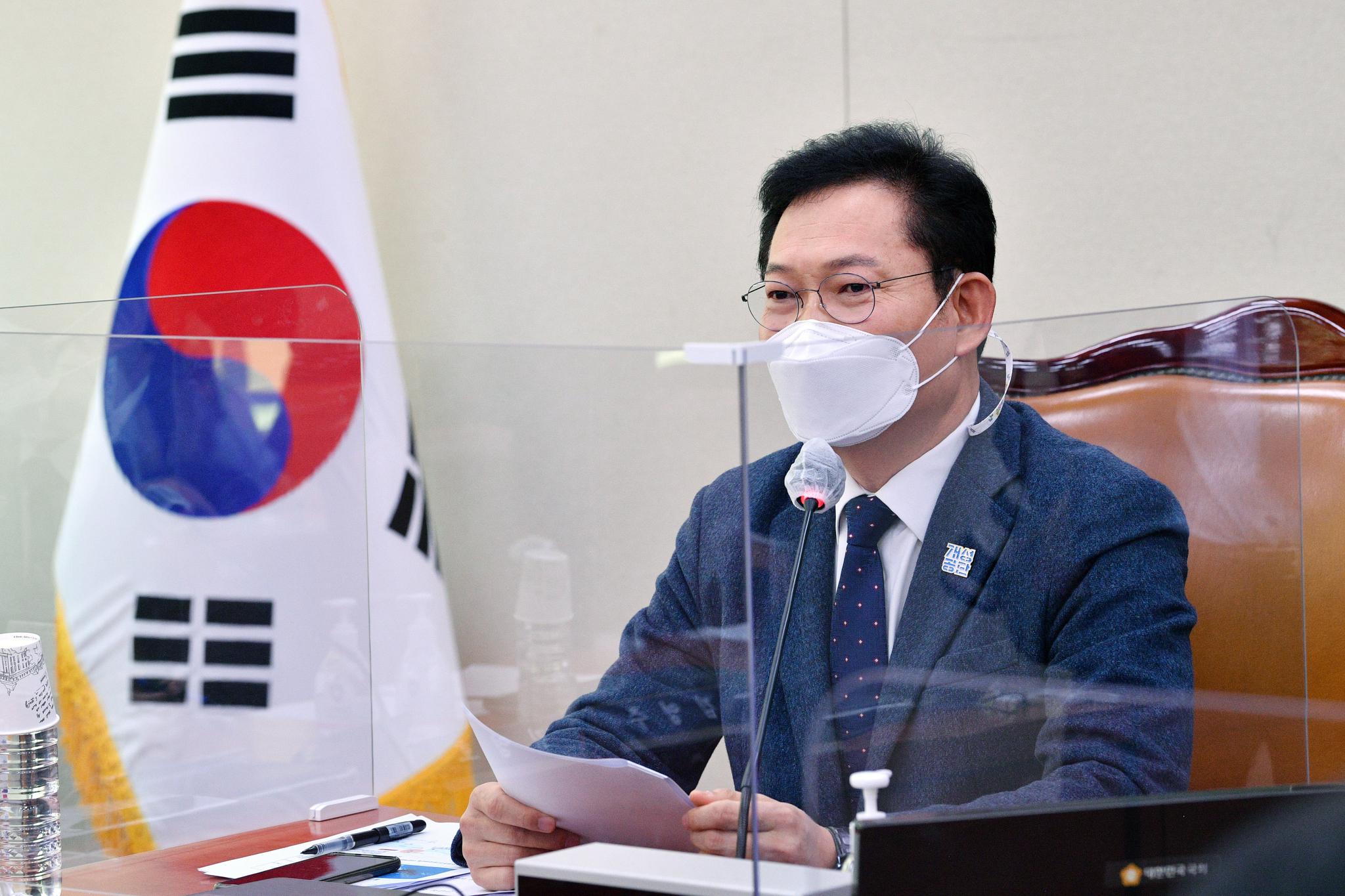 송영길 국회 외교통일위원장. 뉴시스