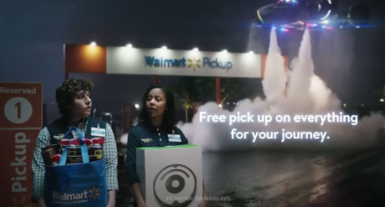 월마트 광고 영상: Walmart Super Bowl Commercial 2020 Famous Visitors (화면 캡쳐)