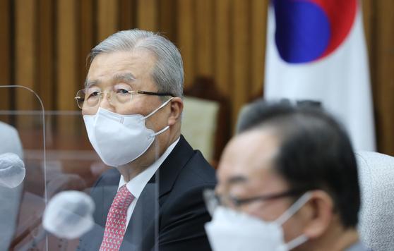 국민의힘 김종인 비상대책위원장. 오종택 기자