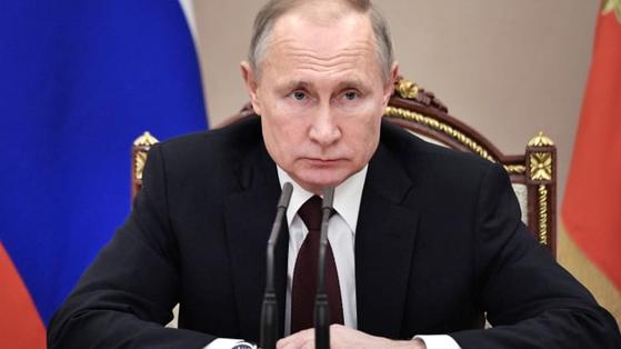 블라드미르 푸틴 러시아 대통령. [중앙포토]