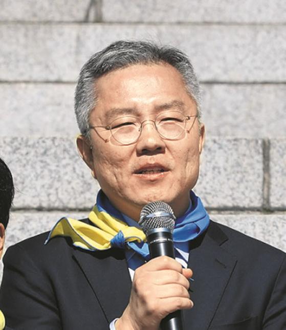 최강욱 열린민주당 대표(전 청와대 공직기강비서관)[뉴시스]