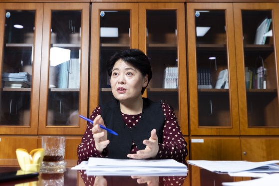 윤희숙 국민의힘 의원. 박종근 기자