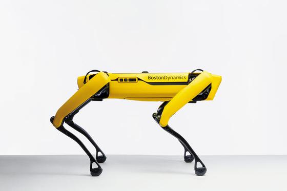 현대차그룹은 지난달 미국의 로봇 전문 업체 '보스턴 다이내믹스'를 인수했다. 로봇을 활용한 스마트 물류 솔루션과 재난 구조, 의료 케어 등으로 사업 확장을 추진한다. 보스턴 다이내믹스의 4족 보행 로봇 '스팟'. [사진 현대차그룹]