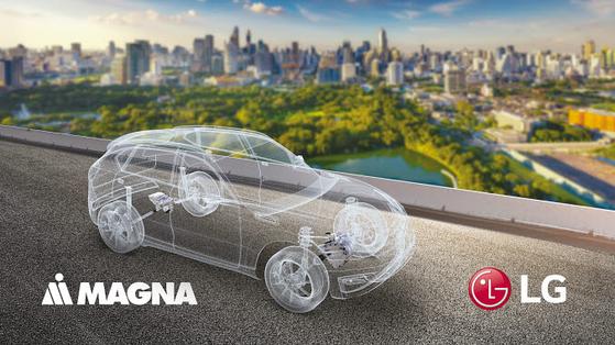 LG전자가 자동차 부품 사업에서 속도를 내고 있다. LG전자와 마그나는 친환경차 및 전동화 부품 시장이 빠르게 성장하고 있는 상황에서 최상의 시너지를 내며 합작법인의 사업 고도화에 기여할 것으로 기대하고 있다. [사진 LG전자]
