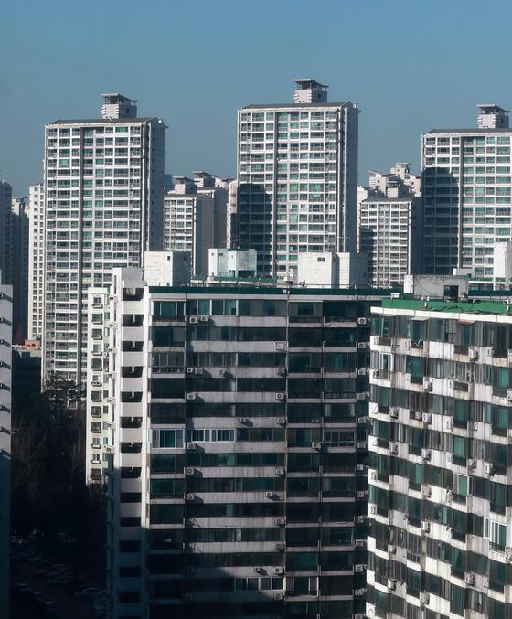 서울 송파구의 아파트 단지. [뉴스1]