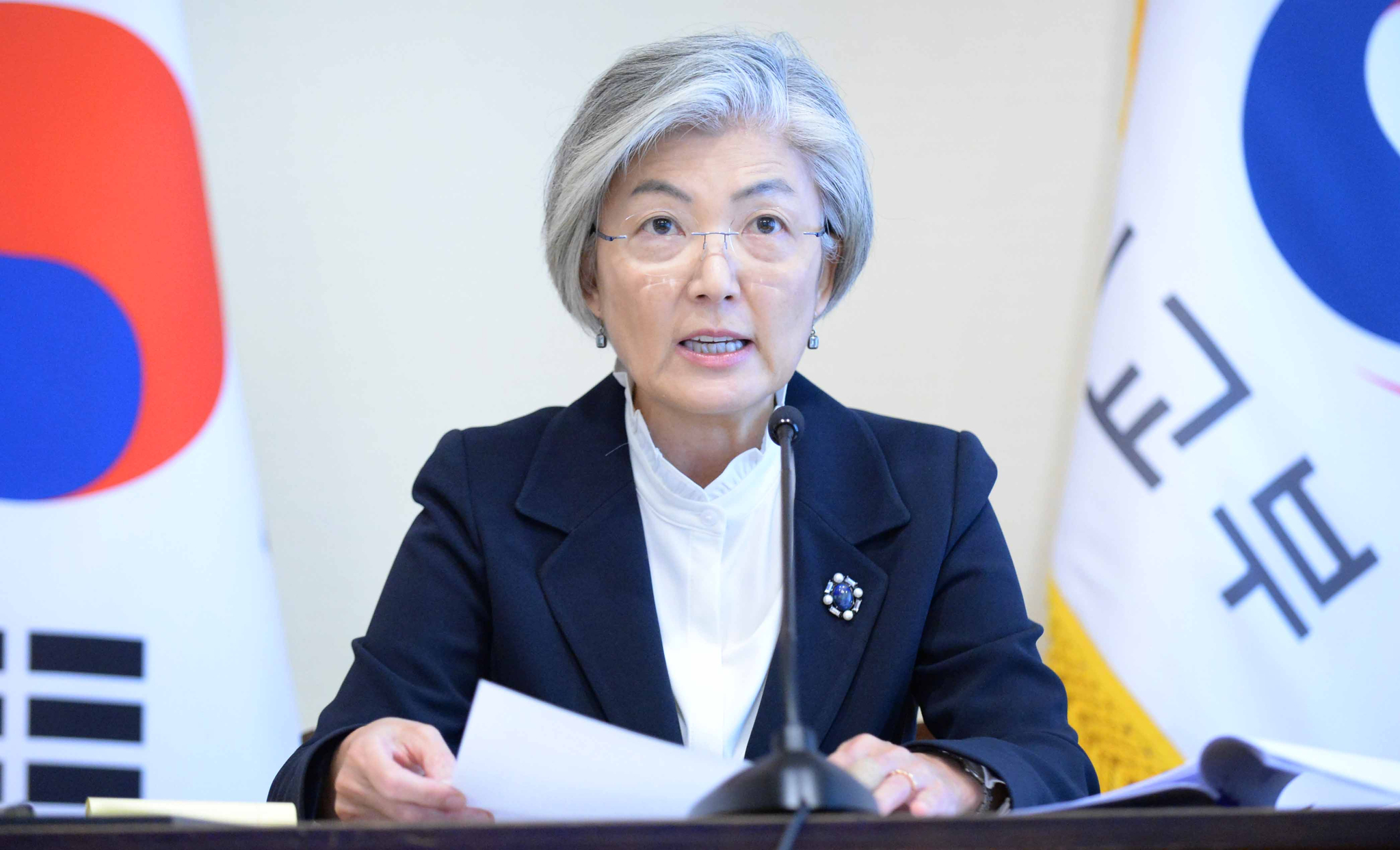 강경화 외교부 장관. 사진 외교부