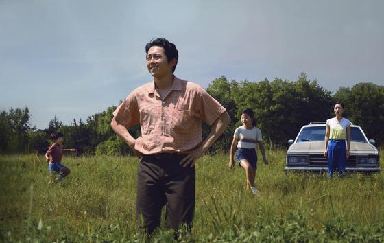 28일 열릴 제78회 골든글로브 시상식에서 영화 '미나리'는 외국어영화상 1개 부문 후보에 올랐다. [연합뉴스]