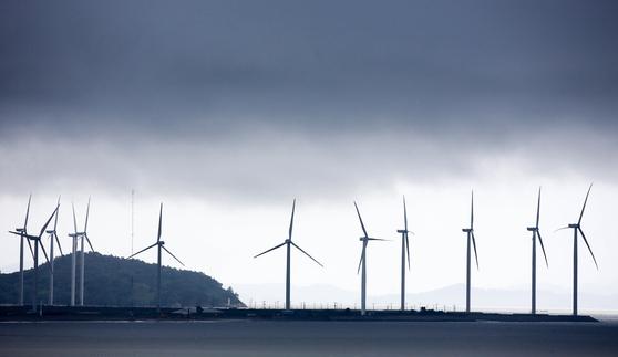전남의 한 풍력발전소. 프리랜서 장정필