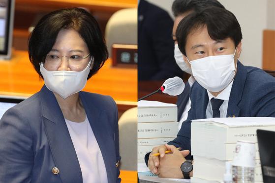 이수진·이탄희 더불어민주당 의원. 뉴스1